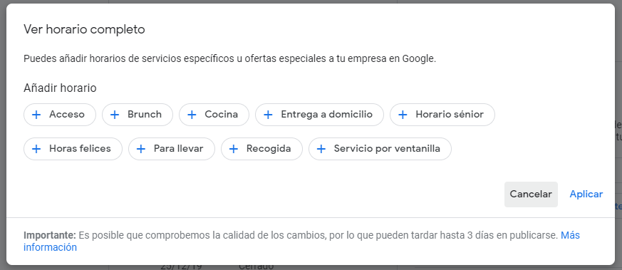 novedades google my business