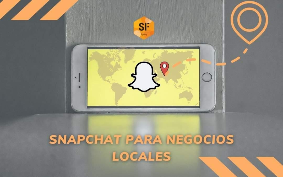 Snapchat para negocios locales